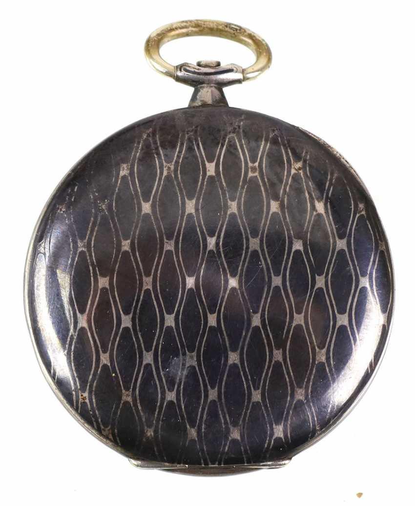Niello Men's Pocket Watch - Silver - photo 2