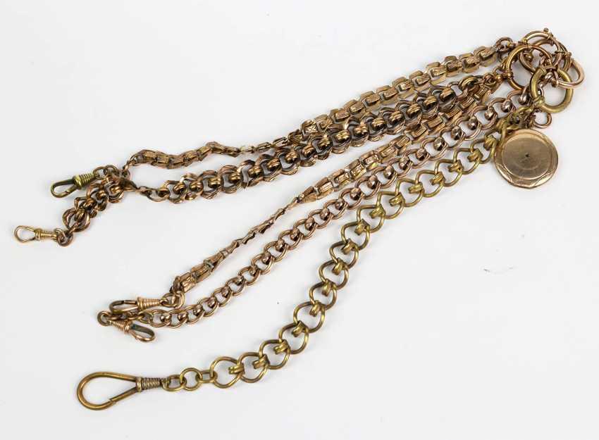 5 Goldoublé Watch Chains - photo 1