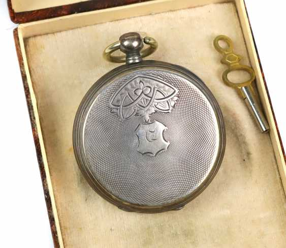 Key pocket watch circa 1890 - photo 2