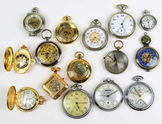 Items, pocket watches, among other things, - photo 1