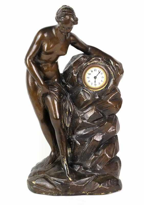 Figural mantel clock 1920s - photo 1