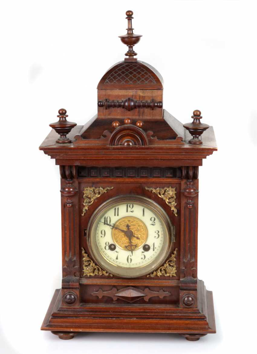 Historicism table clock 1880 - photo 1