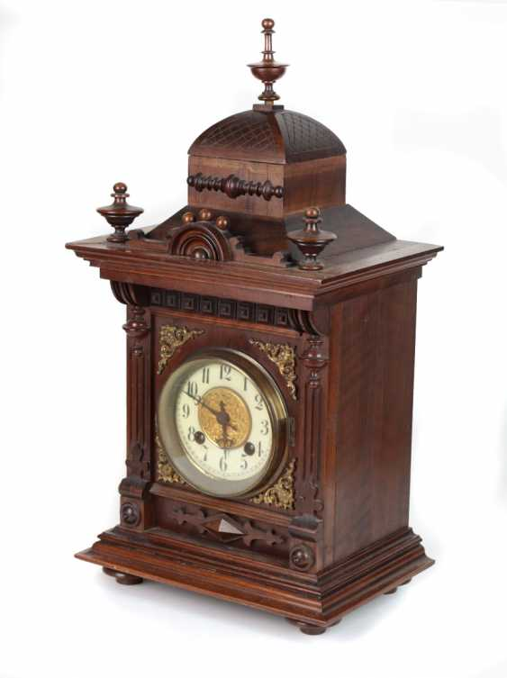 Historicism table clock 1880 - photo 2