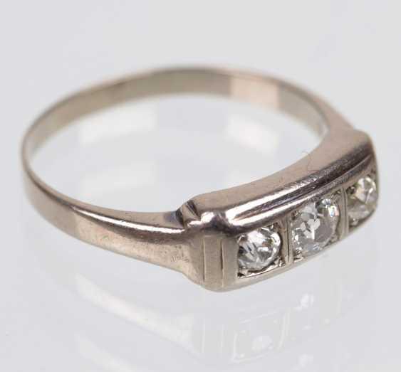 Diamond Ring - White Gold 585 - photo 2