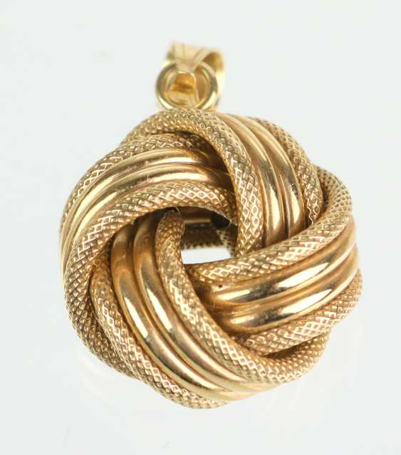 MILOR Gold pendant - yellow gold 375 - photo 1