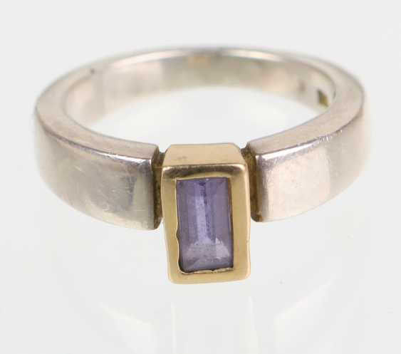 Iolite Ring 925 Silver - photo 1