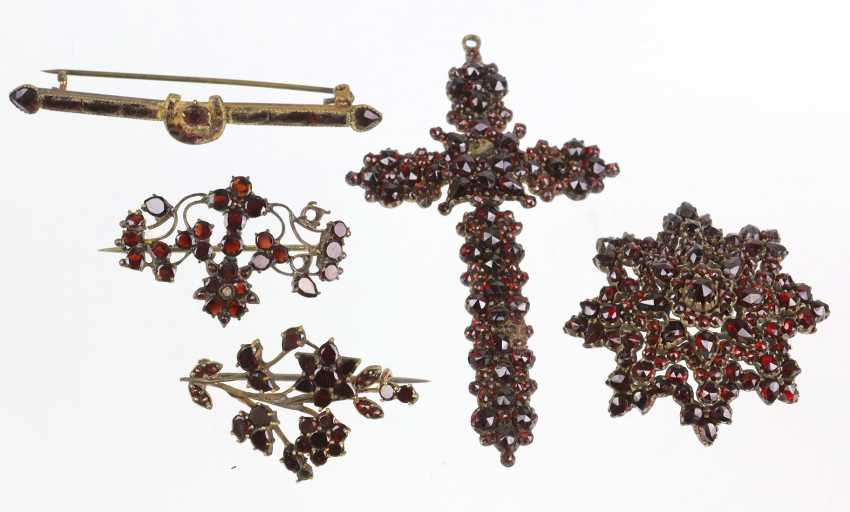 The post antique garnet jewelry - photo 1