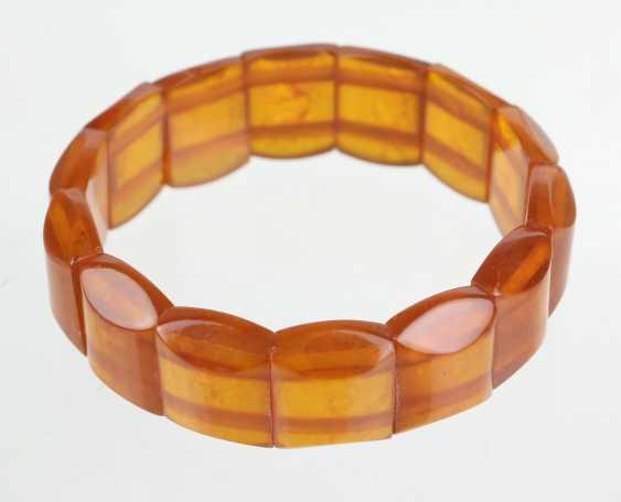 Art Deco Amber Bracelet - photo 1