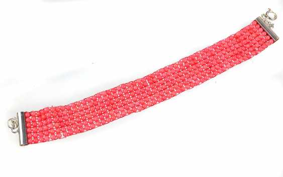 Coral Braid Bracelet - photo 1