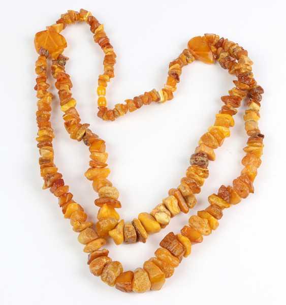 large amber necklace - photo 1