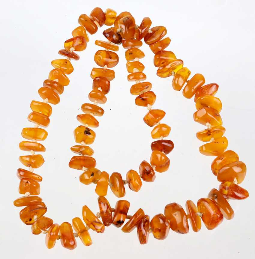 long amber necklace - photo 1