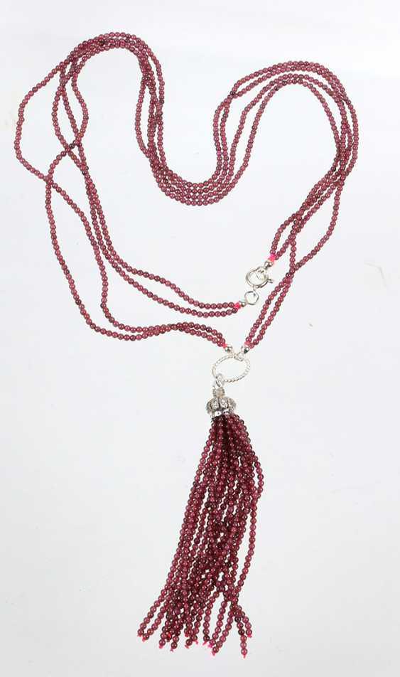 Designer Garnet Necklace - photo 1