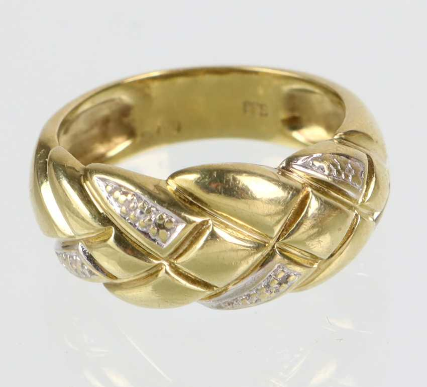 Ladies Ring - Yellow Gold 333 - photo 1