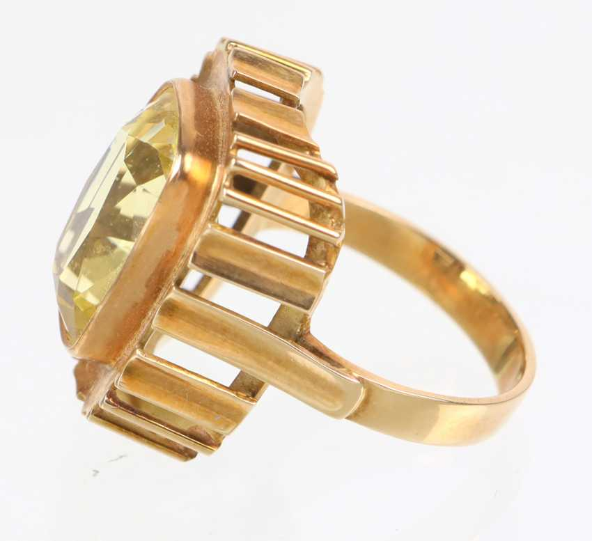 Goldtopas Ring - Gelbgold 585 - photo 2
