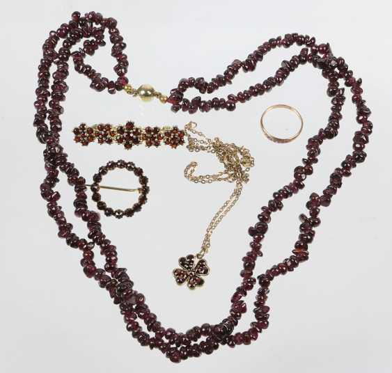 The post antique garnet jewelry - photo 1