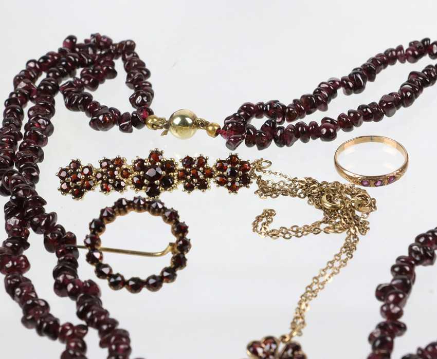 The post antique garnet jewelry - photo 2