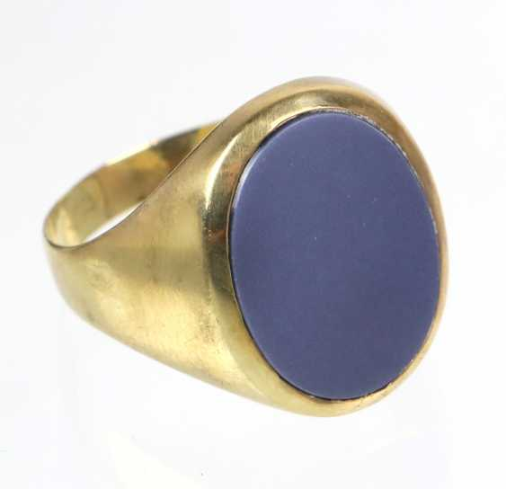 antique man's Ring - yellow gold 585 - photo 1