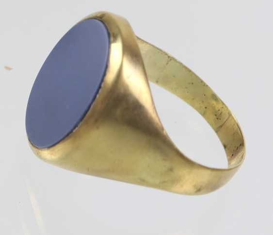 antique man's Ring - yellow gold 585 - photo 2