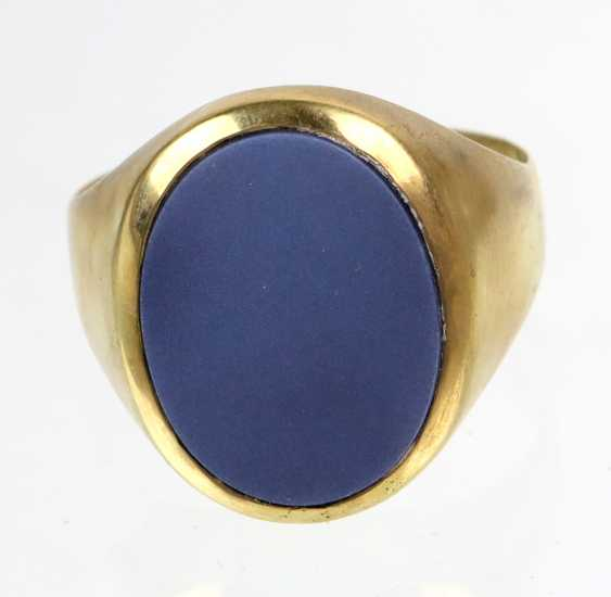 antique man's Ring - yellow gold 585 - photo 3