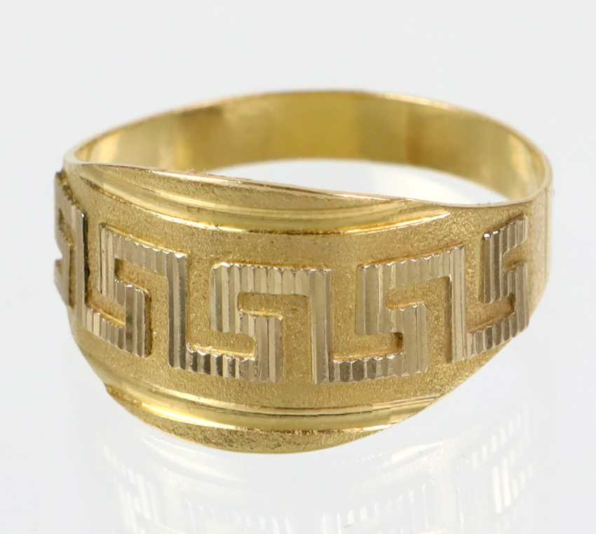 Meander Ring - Yellow Gold 585 - photo 1