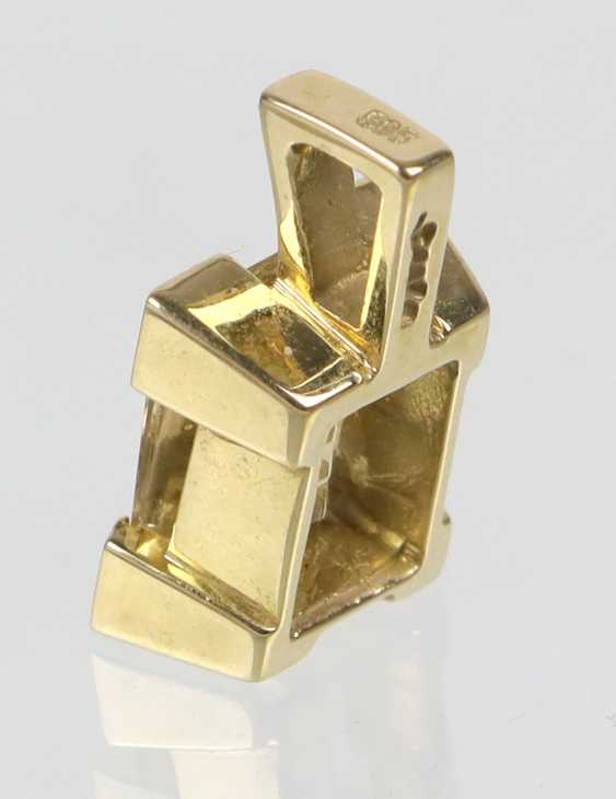 Beryl Pendant In Yellow Gold 585 - photo 2