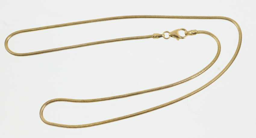 Snake Chain - Yellow Gold 333 - photo 1