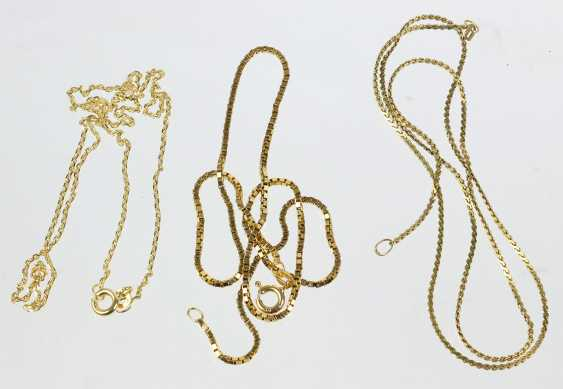 3 Gold Chains - Yellow Gold 333 - photo 1