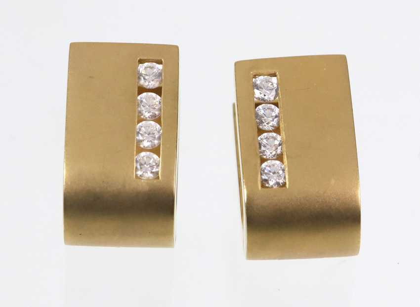 Design Earrings - Yellow Gold 375 - photo 1