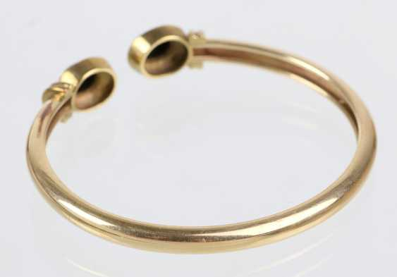Bracelet with Onyx yellow gold 333 - photo 2