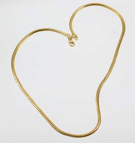 Hose Chain - Yellow Gold 585 - photo 1