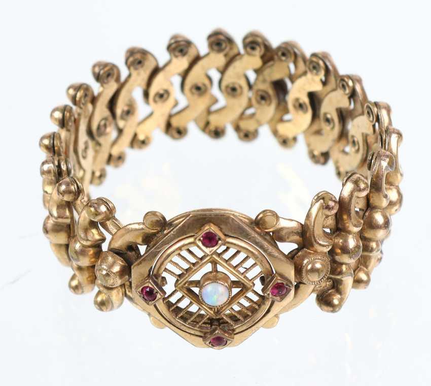Historicism scissors bracelet 1880 - photo 1