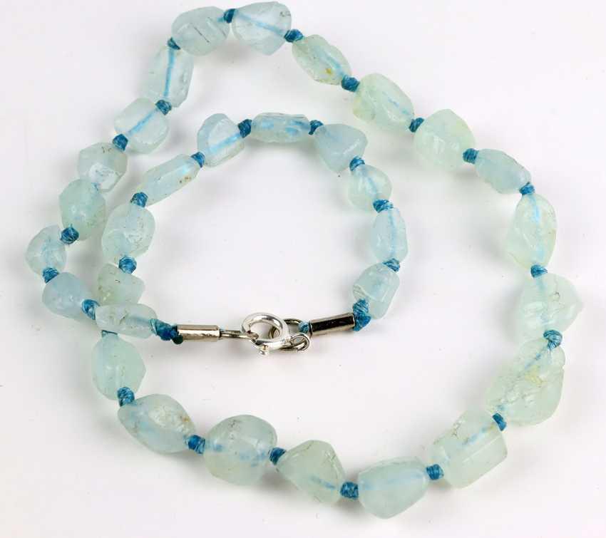 Natural Aquamarine Necklace - photo 1