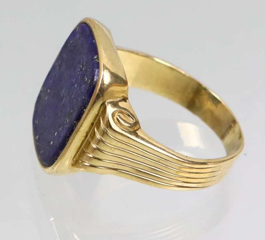 antiker Lapislazuli Ring - Foto 2