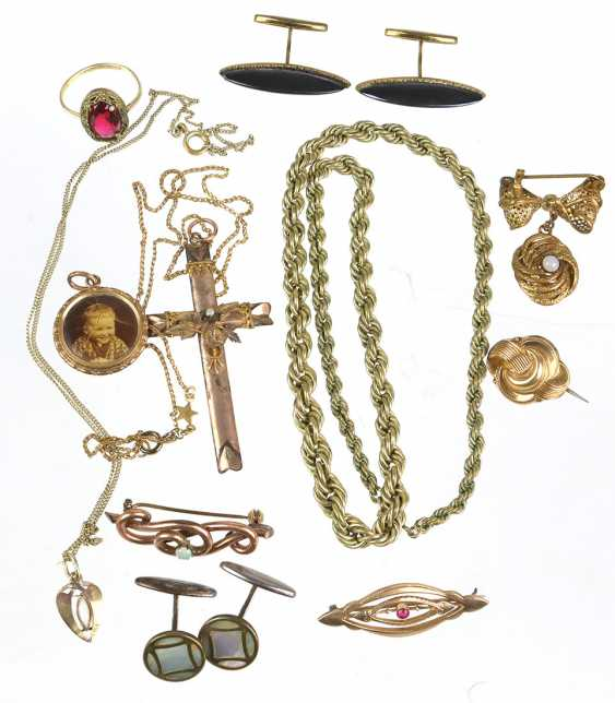 The post antique Doublé jewelry - photo 1