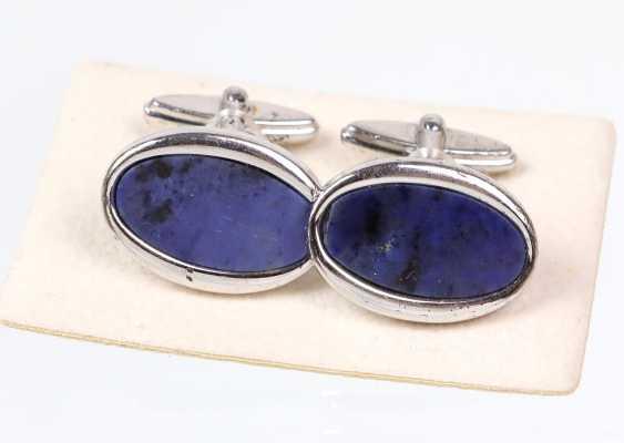 Lapis Lazuli Cufflinks - photo 1