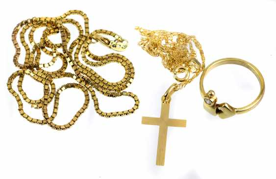 3 Parts Of Gold Jewelry - photo 1