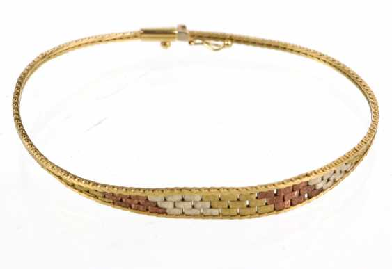 Tricolor Armband - Gelbgold/RG/WG 333 - photo 1