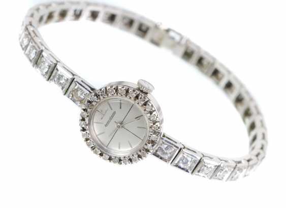 antique diamond watch Jaeger Le Coultre circa 1920 - photo 1