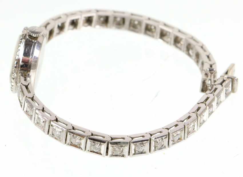 antique diamond watch Jaeger Le Coultre circa 1920 - photo 2