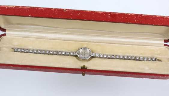 antique diamond watch Jaeger Le Coultre circa 1920 - photo 3