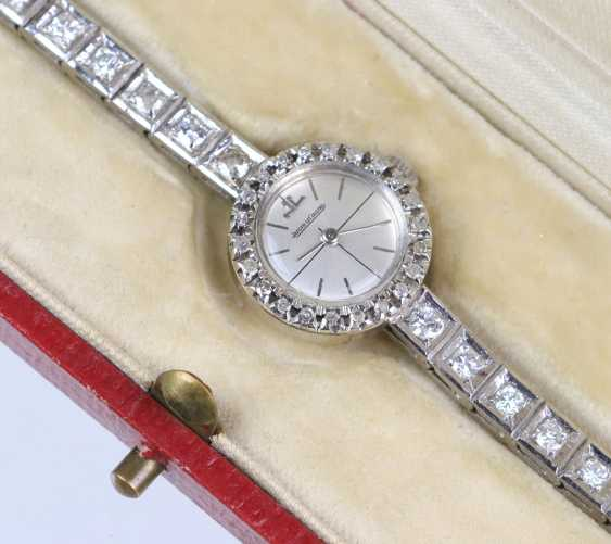 antique diamond watch Jaeger Le Coultre circa 1920 - photo 4