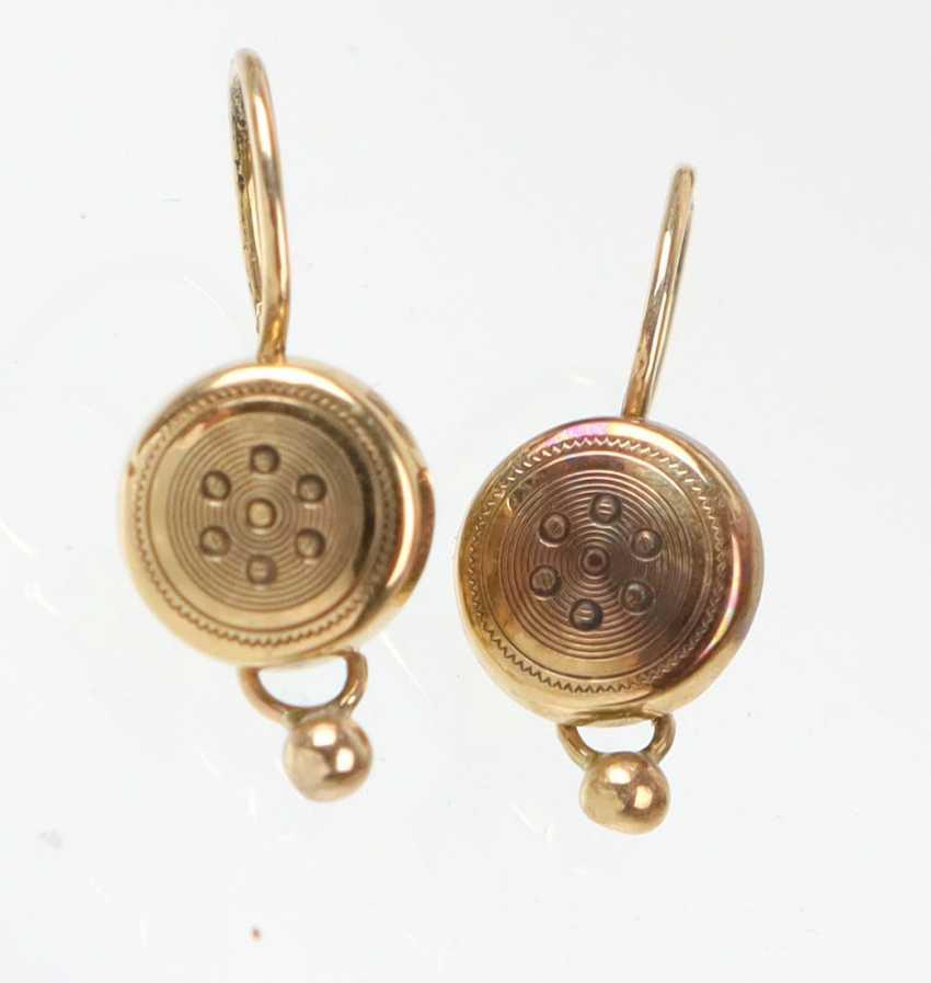 Biedermeier Earrings - photo 1