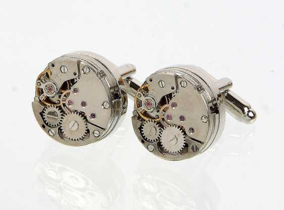 Watch Movement Cufflinks - photo 1
