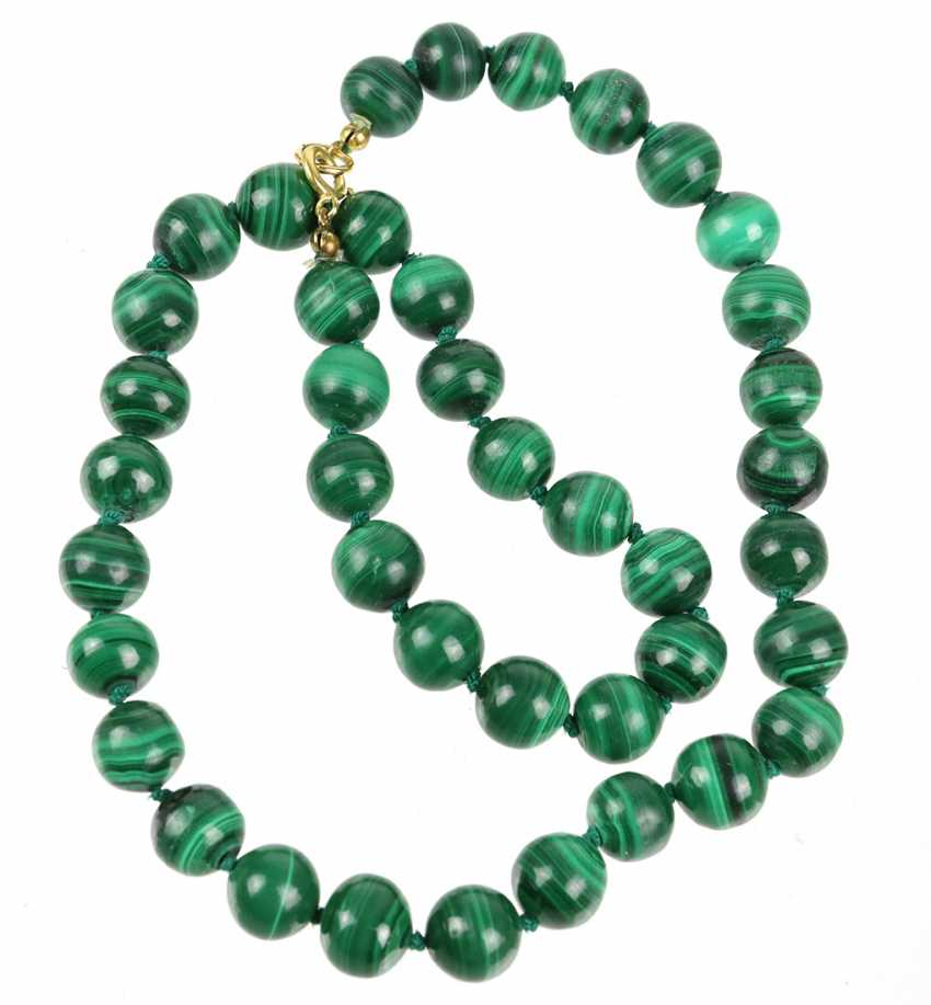 Malachite Ball Chain - photo 1