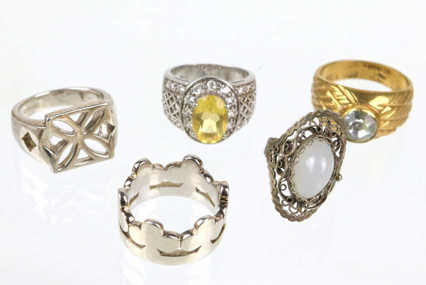 3 Cocktail rings among others - photo 1