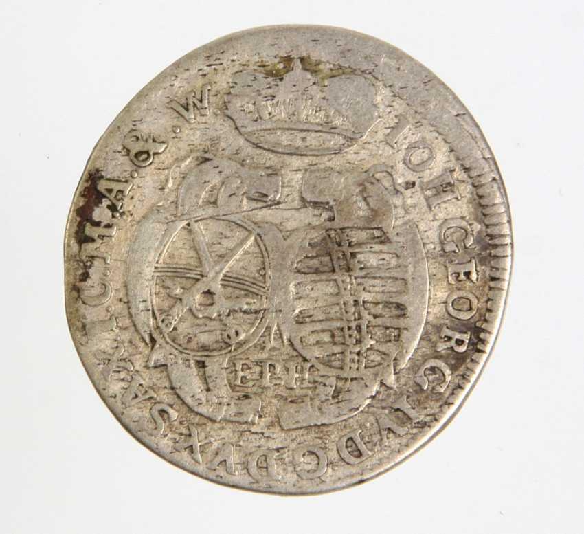 1/12 Taler Saxony in 1694 EPH - photo 1