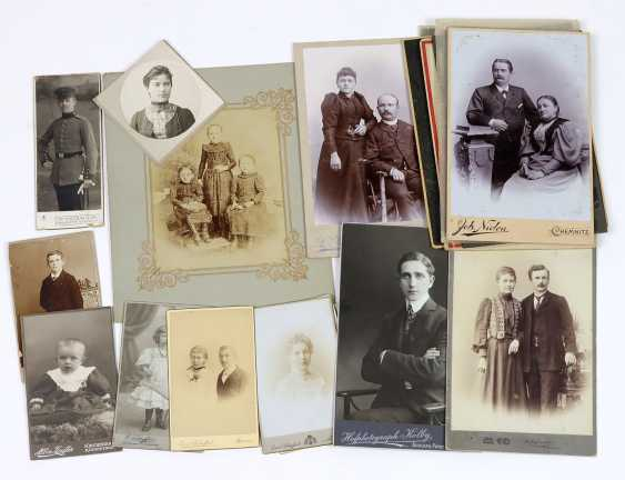 20 Cabinet photos from 1884 - photo 1