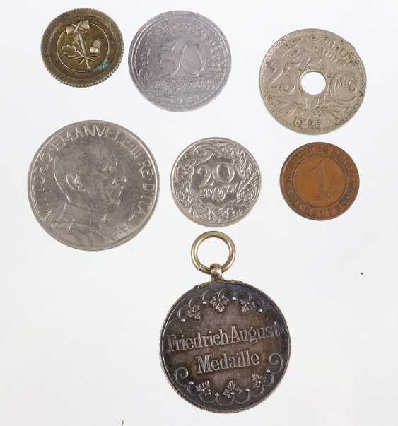 Friedrich August medal, among others - photo 1