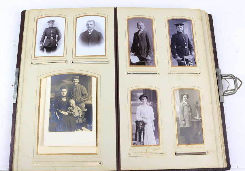 Jugendstil photo album about 1900 - photo 2