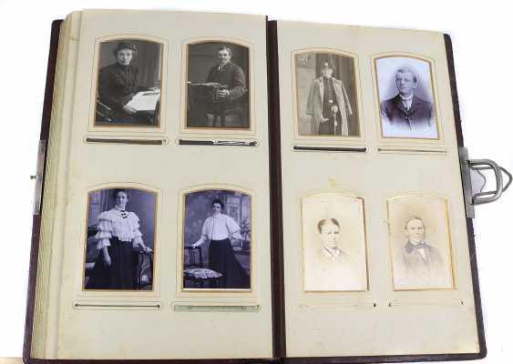 Jugendstil photo album about 1900 - photo 3